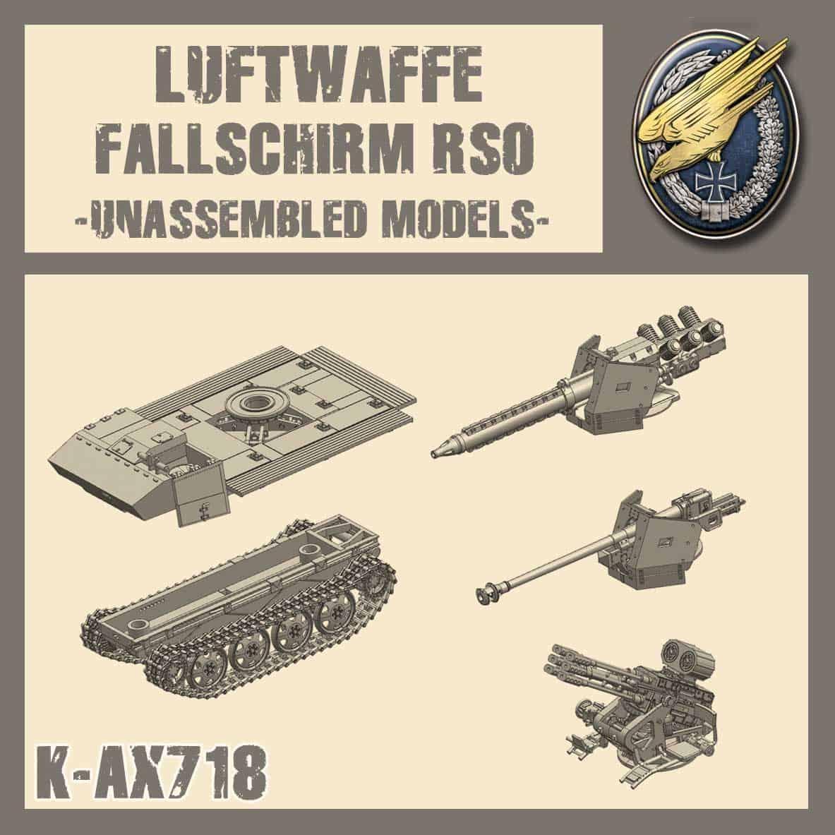 Kit Fallschirm RSO