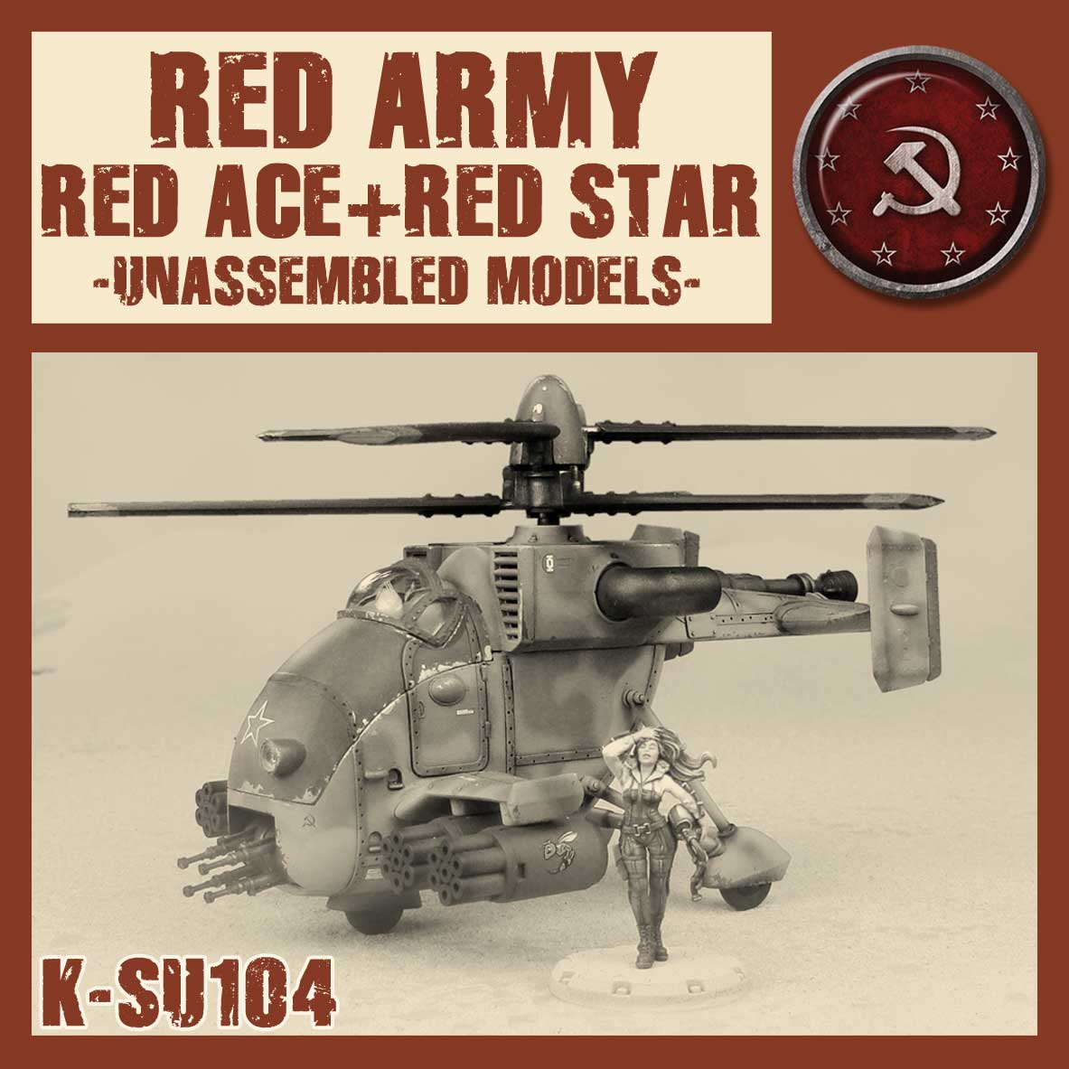 Zdjęcie RED ACE & THE RED STAR Kit