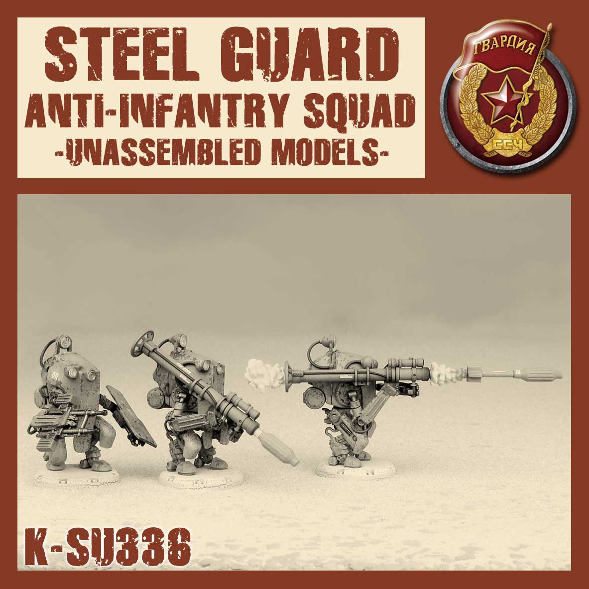 Zdjęcie Steel Guard Anti-Infantry Squad Kit