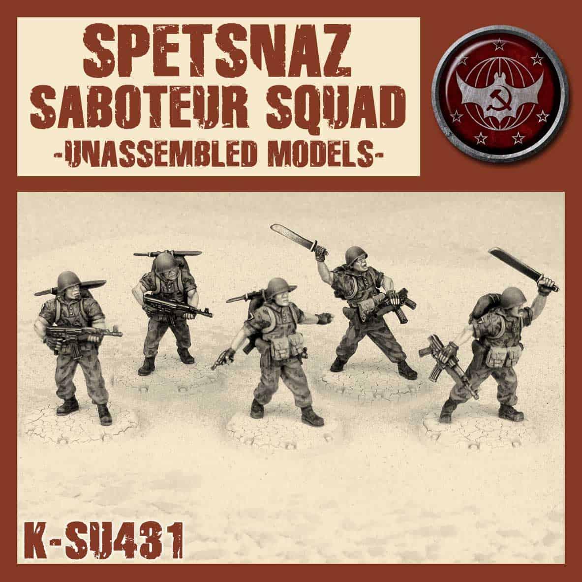 Spetsnaz Saboteur Squad Kit