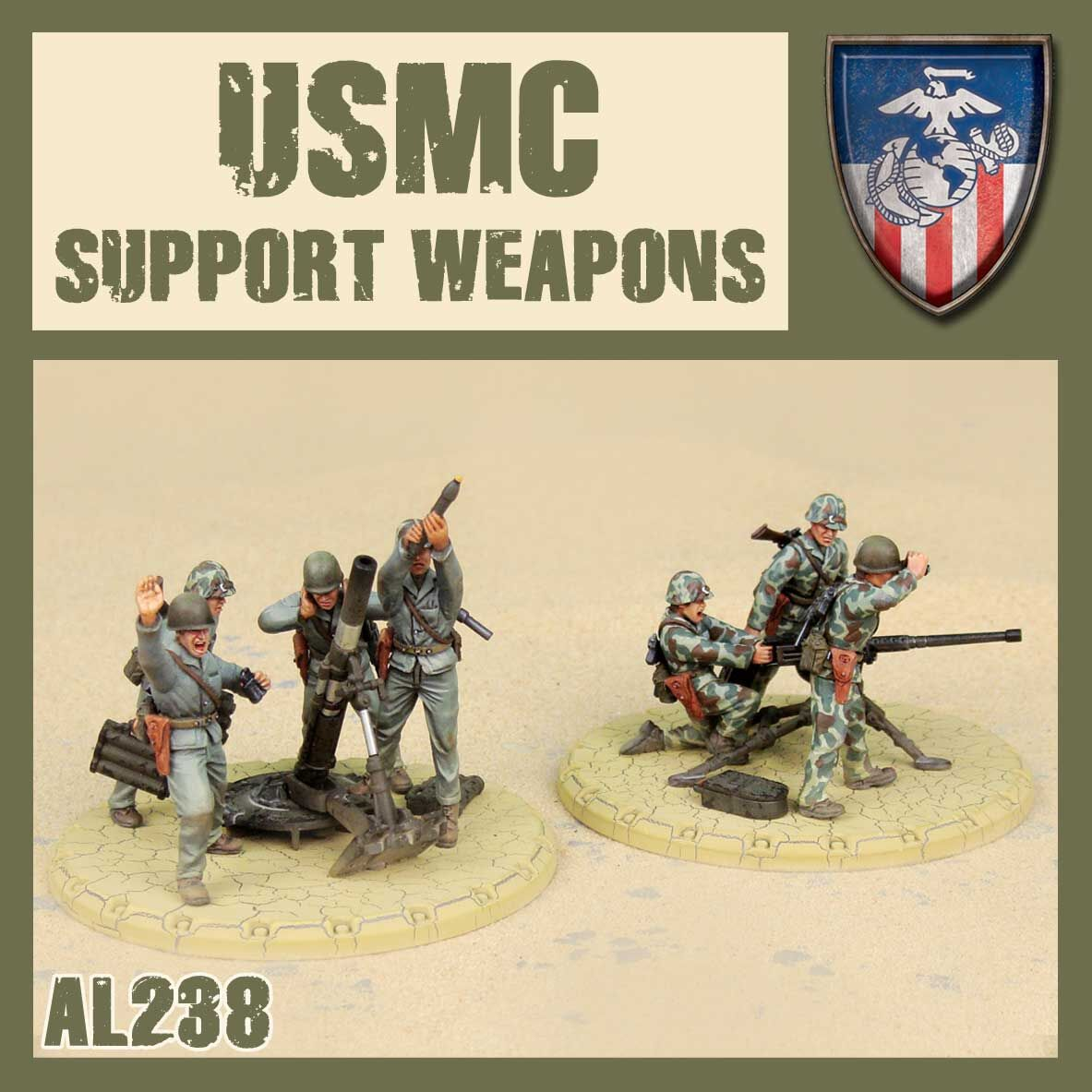 USMC Support Weapons