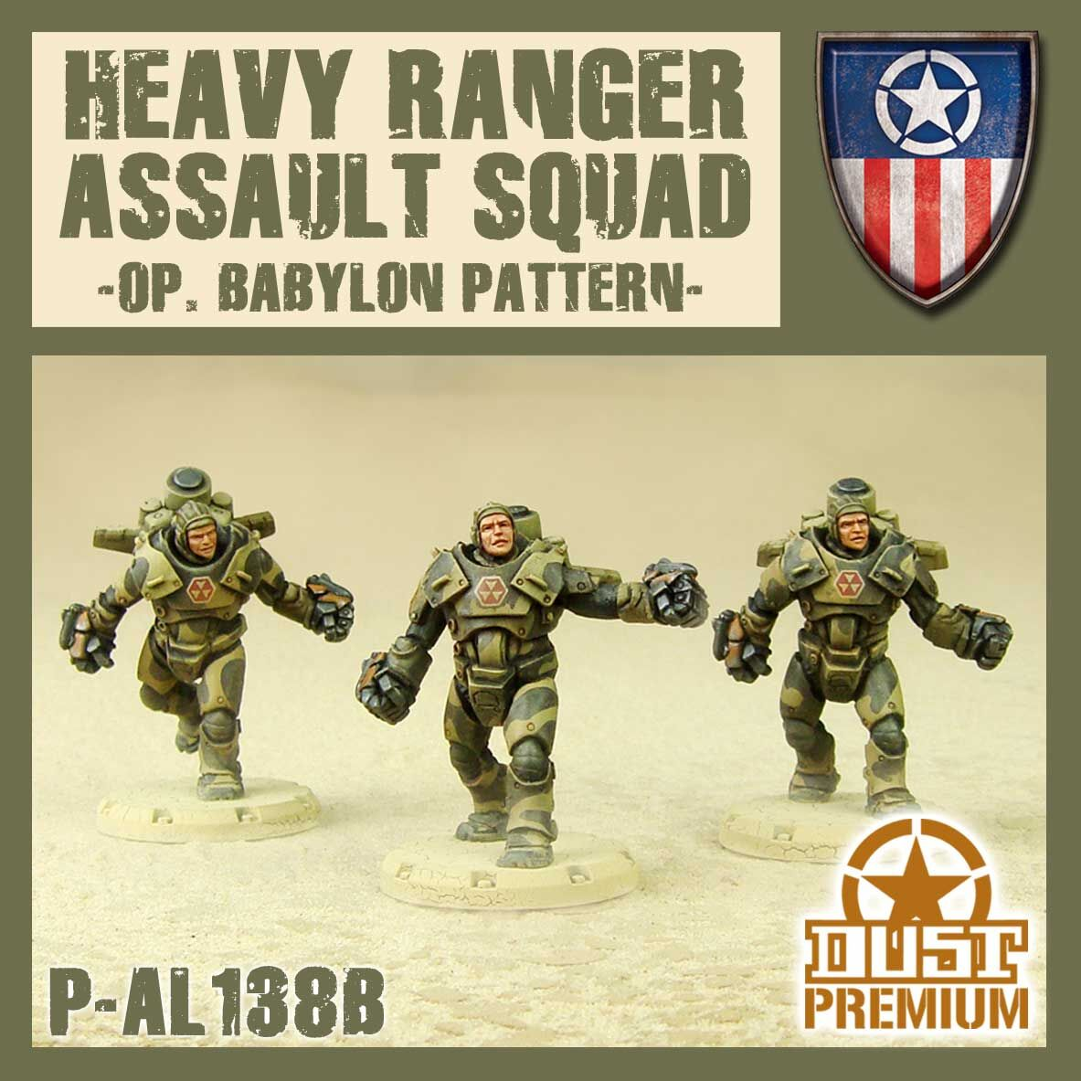 Heavy Ranger Assault Squad Premium