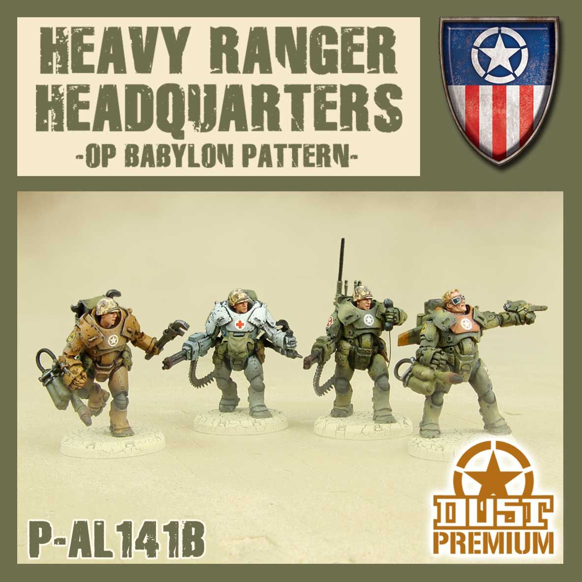 Heavy Ranger HQ Premium