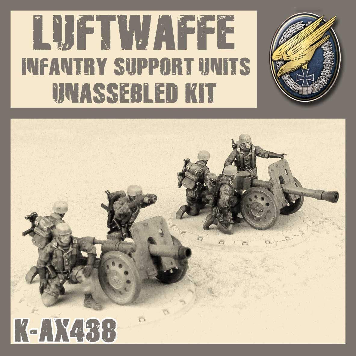 Luftwaffe Support Units - Kit