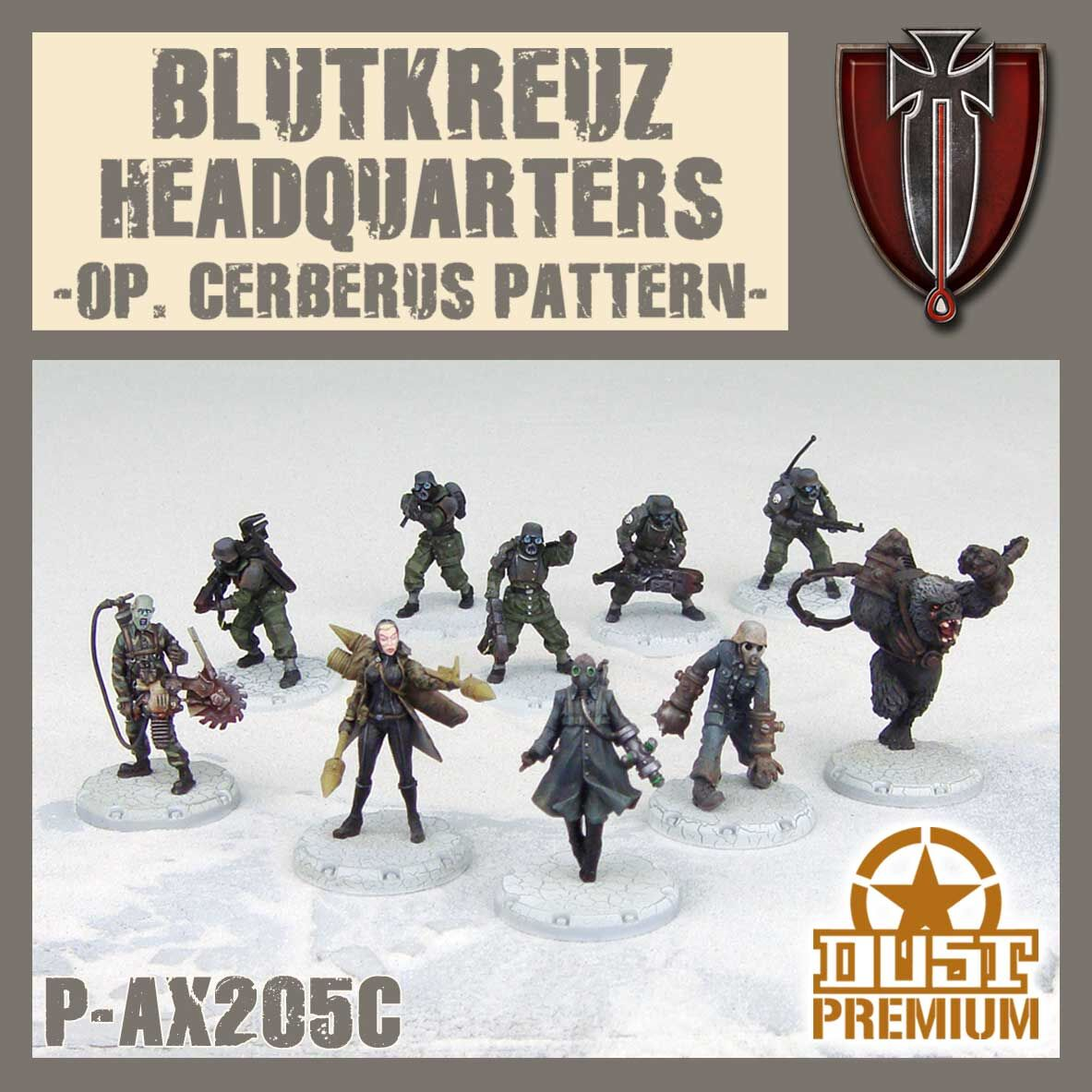 Blutkreuz Headquarters Premium