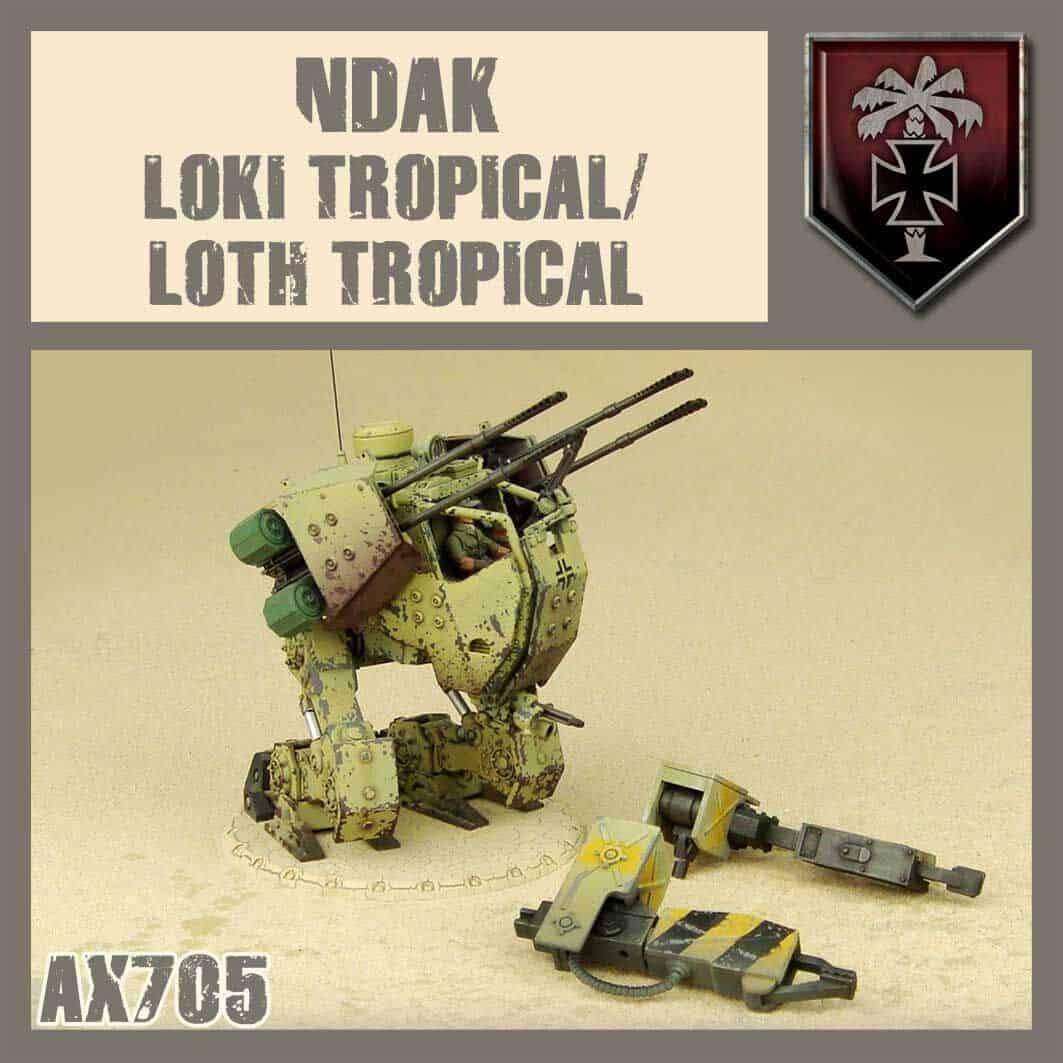 Zdjęcie Tropical Loth / Loki