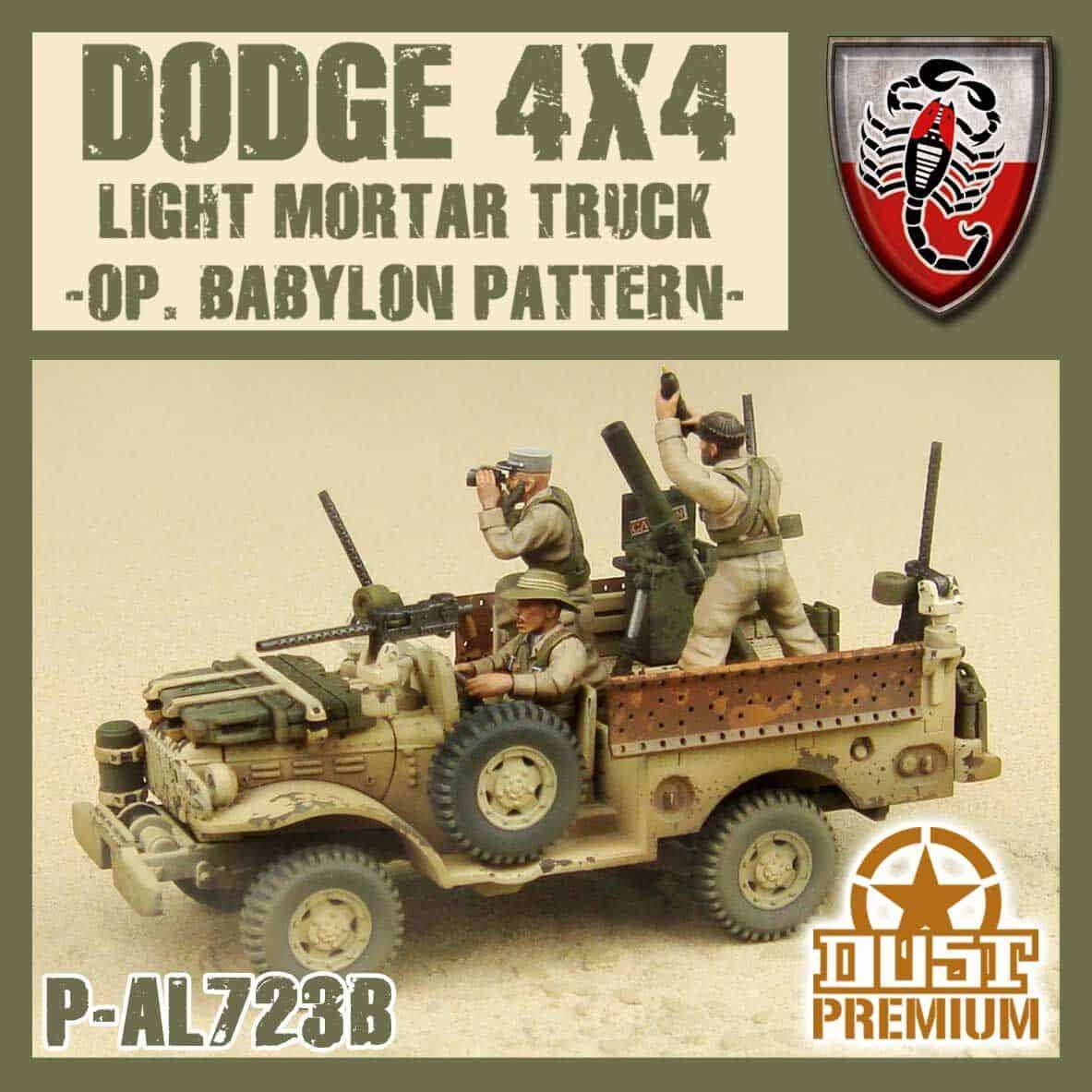Zdjęcie Cięzarówka Artyleryjska LRDG Premium