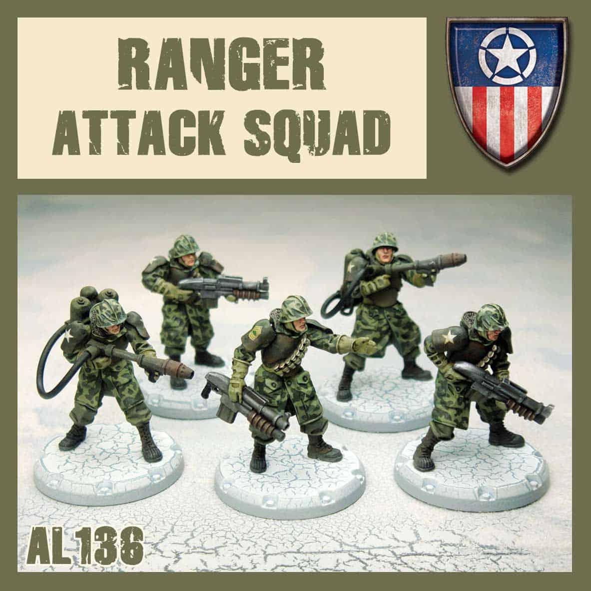 Ranger Attack Squad