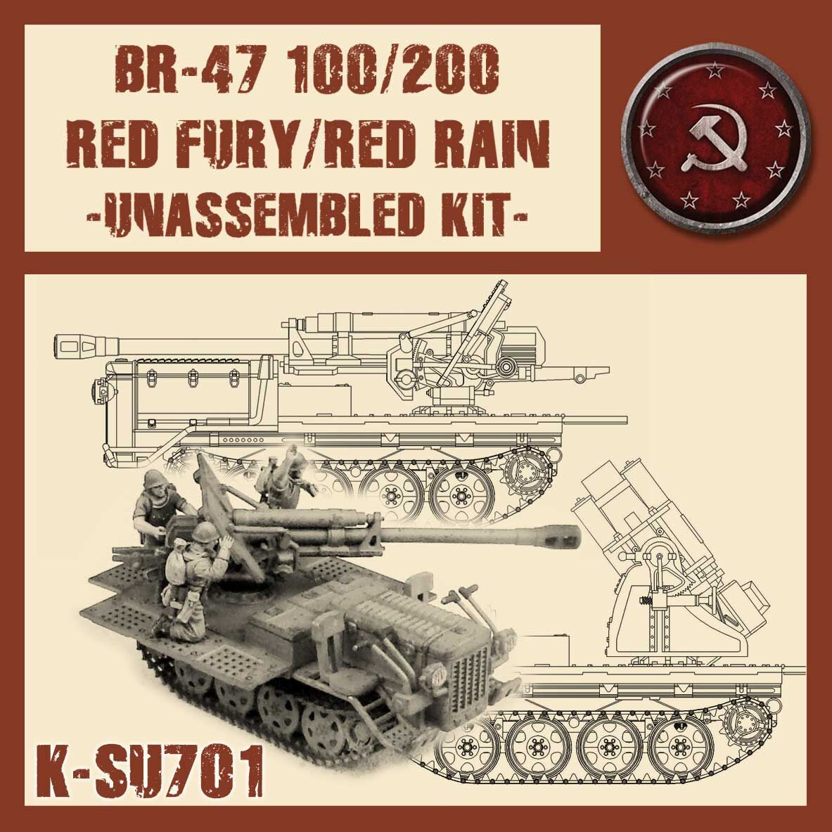 Red Fury/Red Rain - Kit