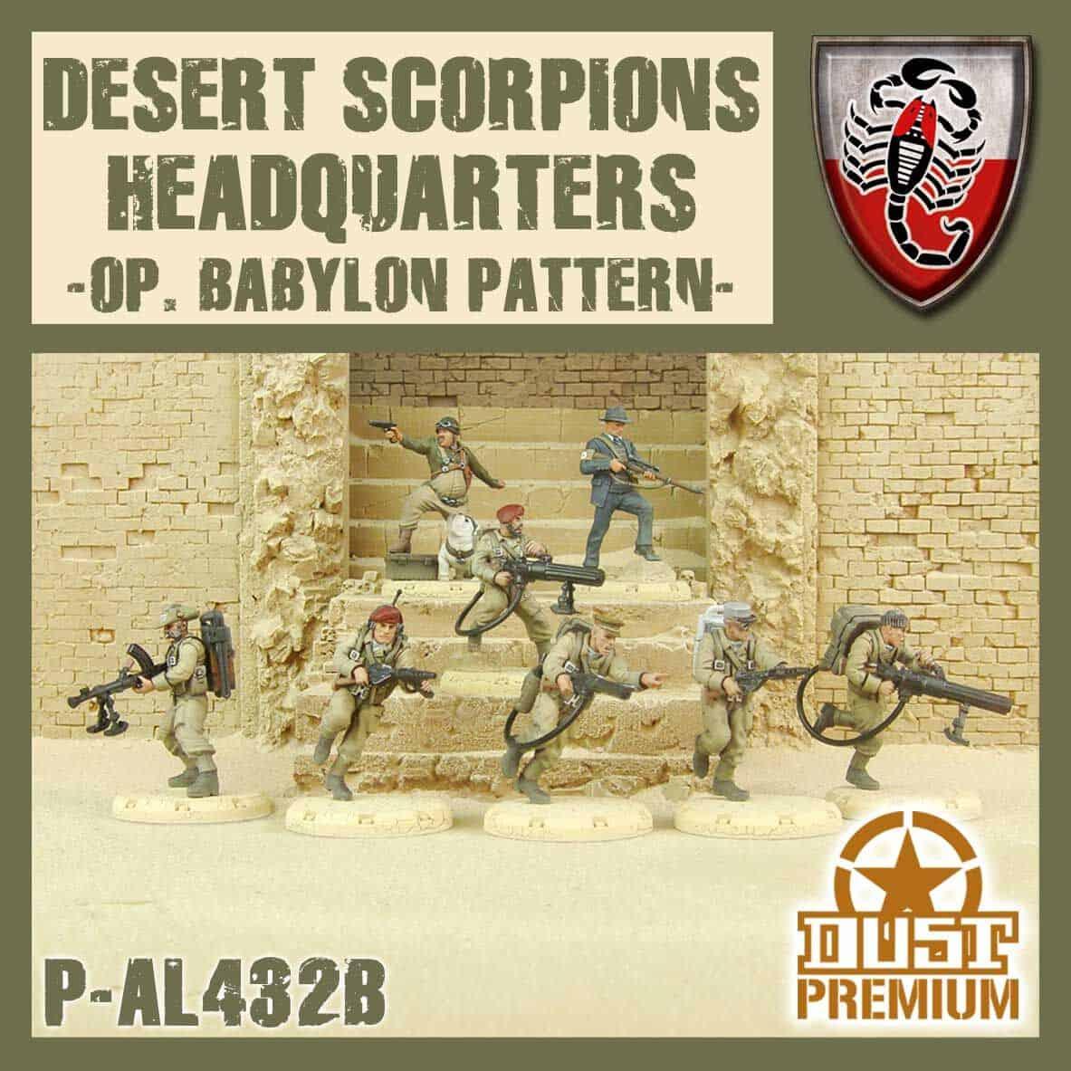 Desert Scorpion HQ Premium