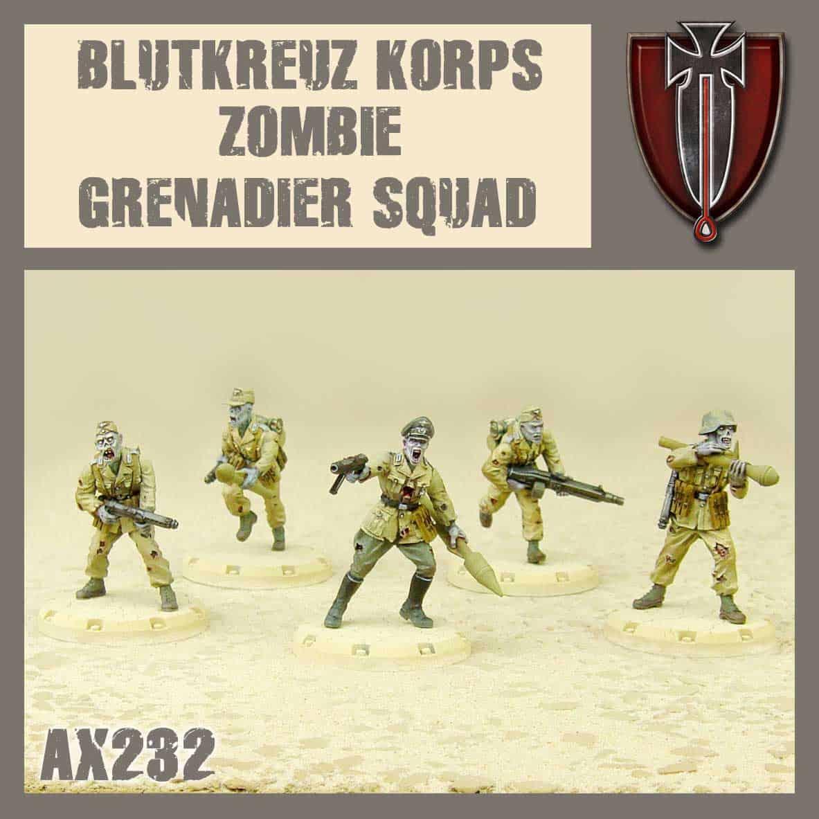 Blutkreuz Zombie Grenadiers Squad