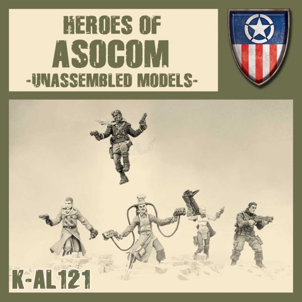 Heroes of ASOCOM Kit