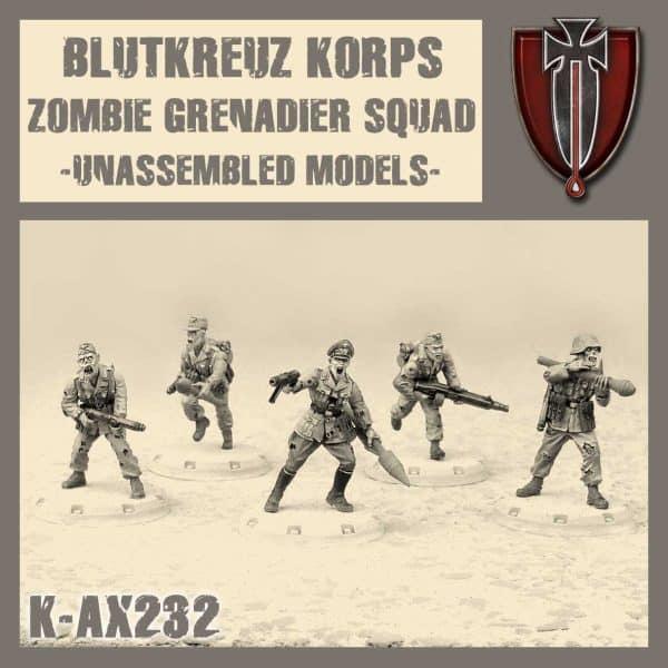 Blutkreuz Zombie Grenadiers Squad Kit