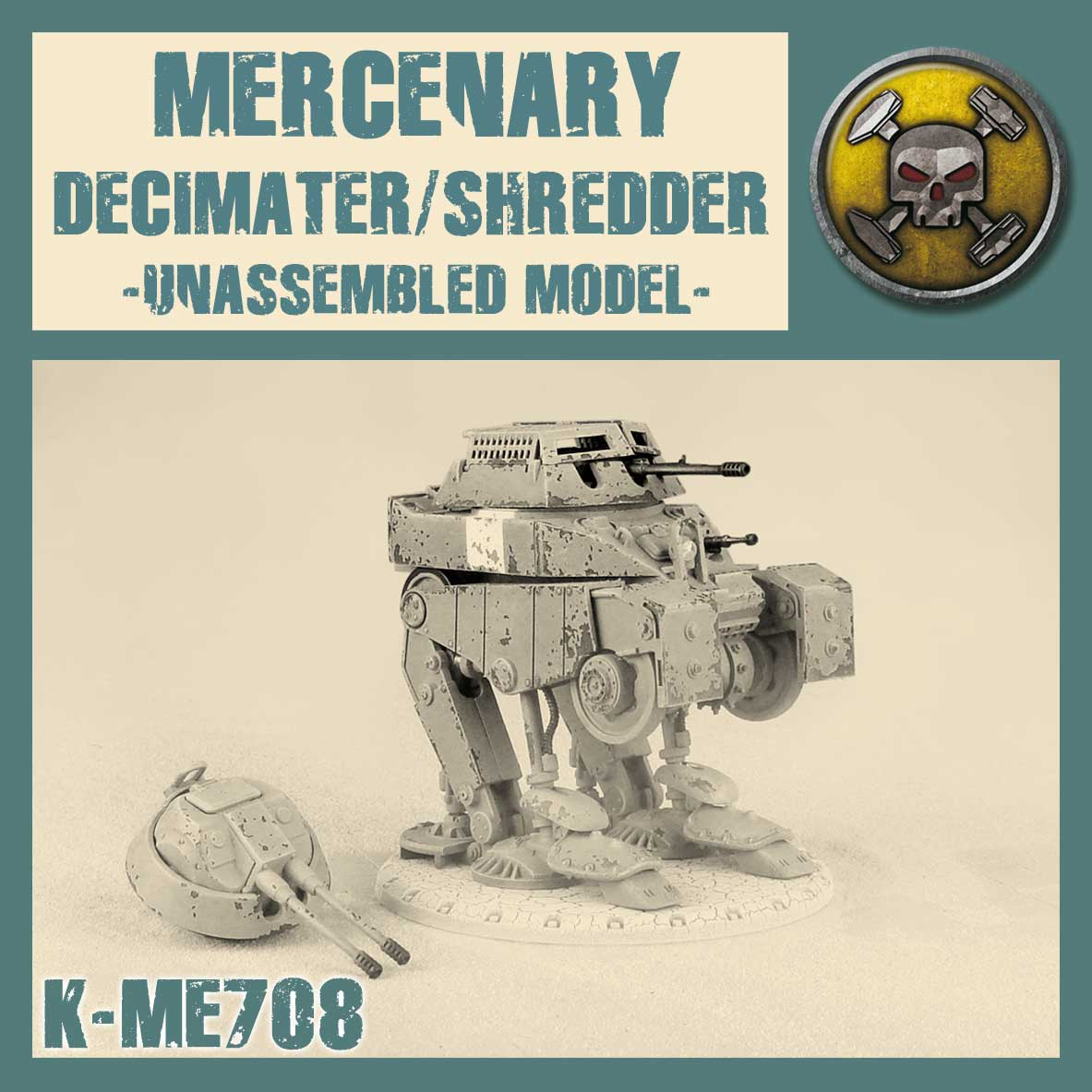 Najemny Decimater/Shredder Kit