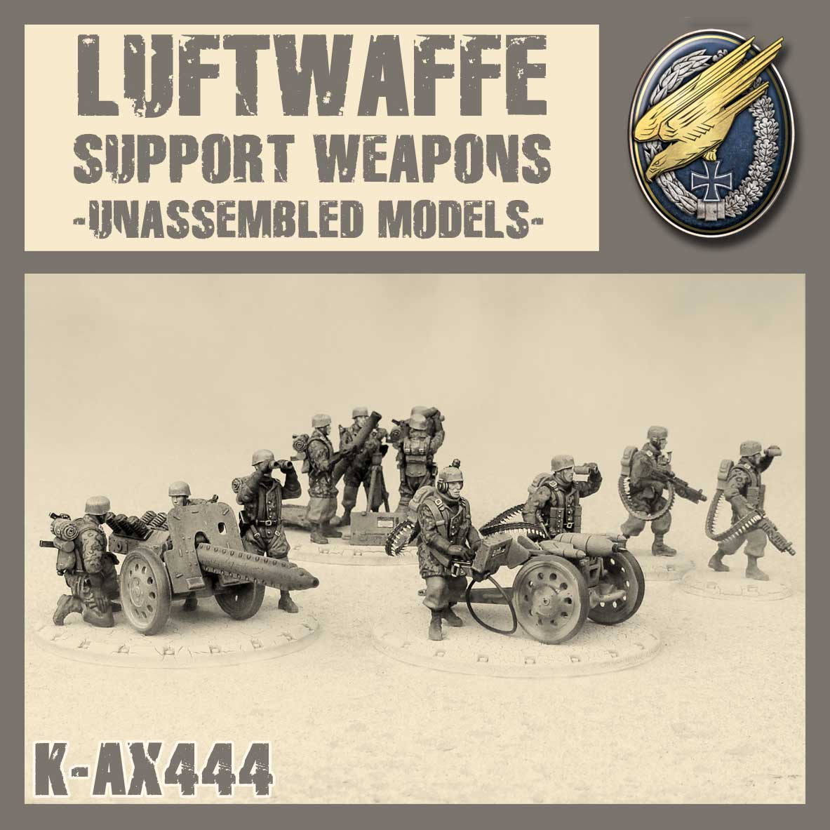 Luftwaffe Support Weapons Kit