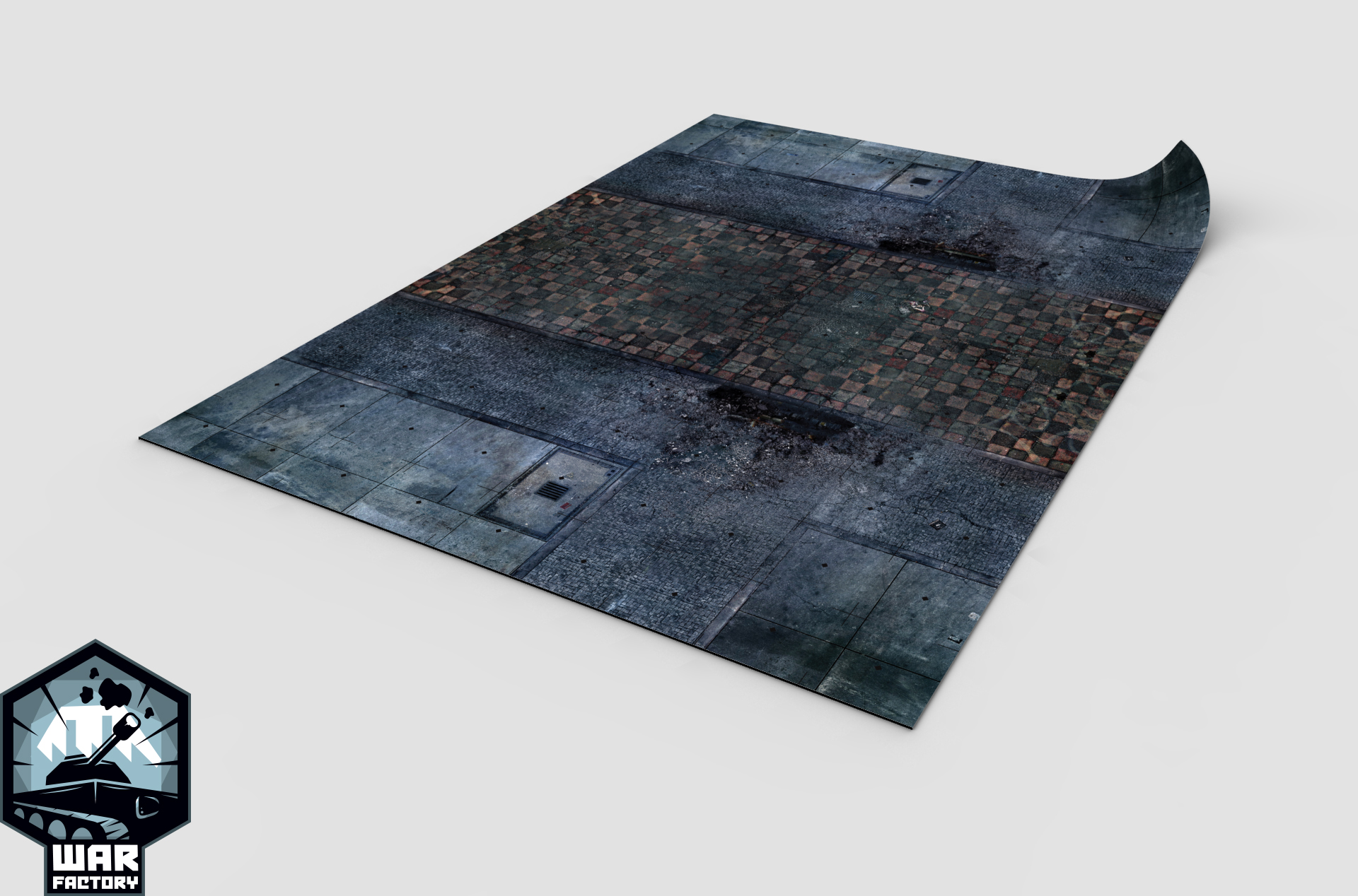 Preorder: City Square Mat Double