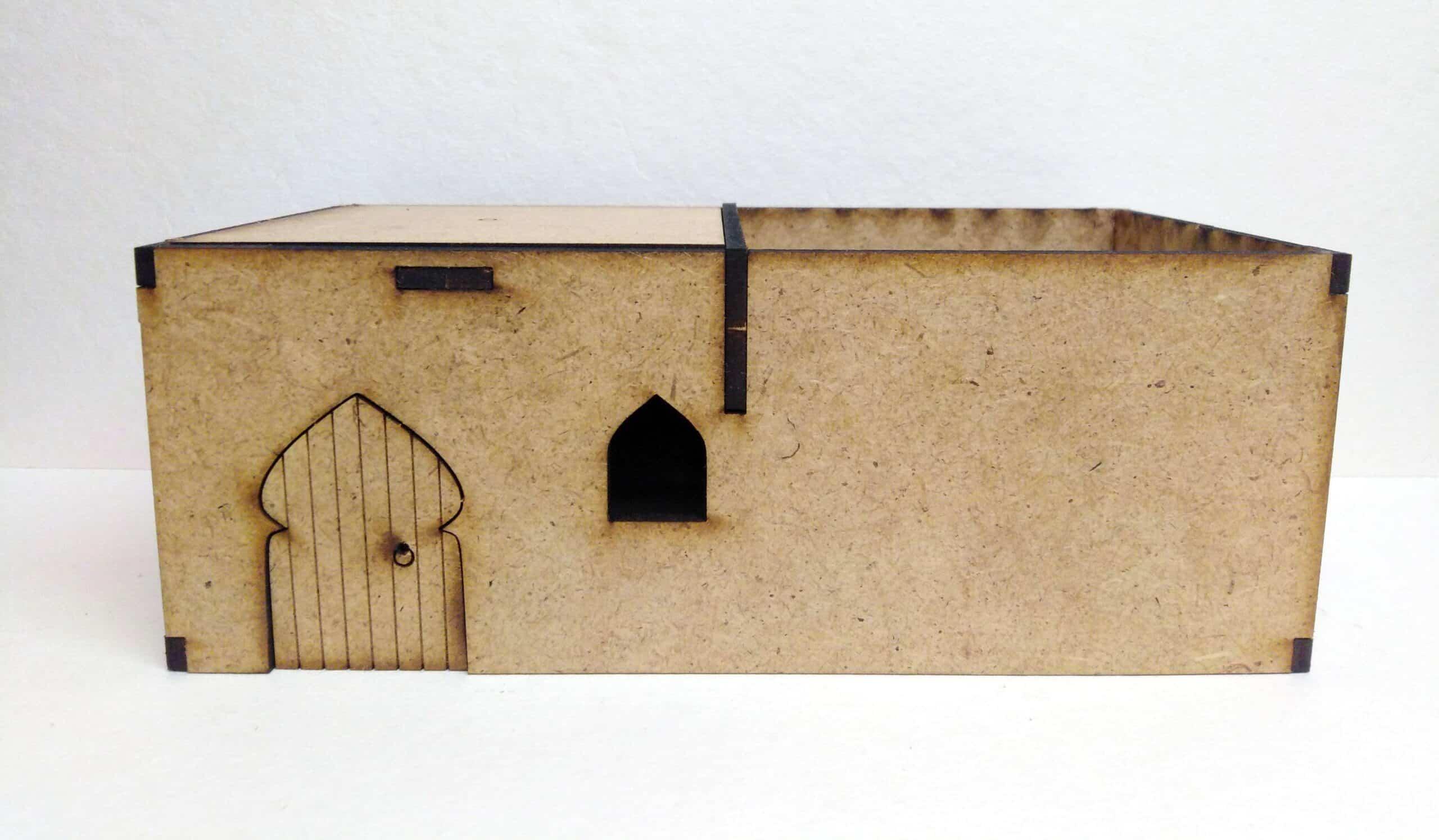 Budynek Pustynny (średni)