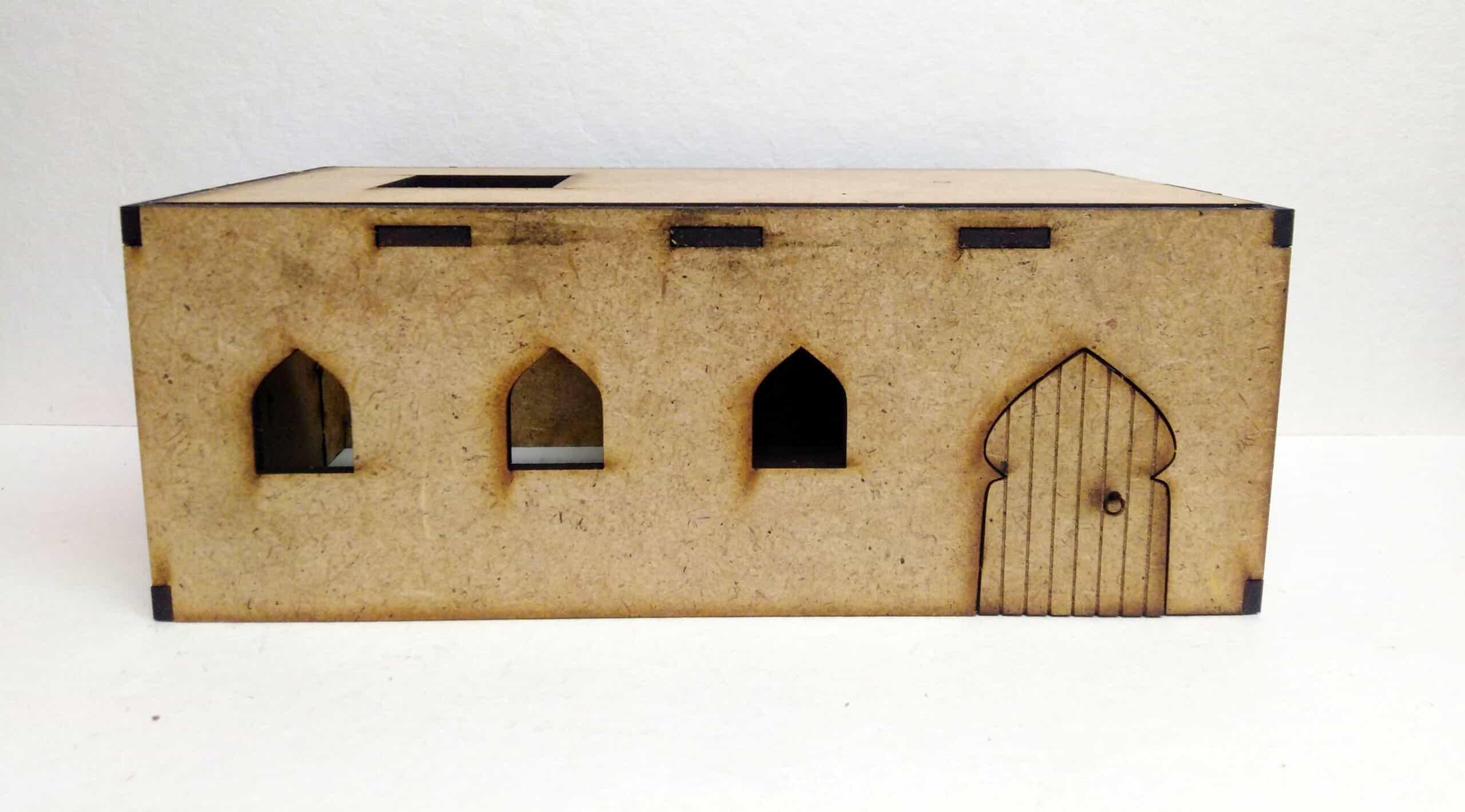 Budynek Pustynny - zestaw