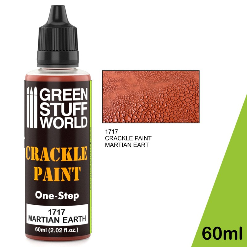 Crackle Paint - Martian Earth