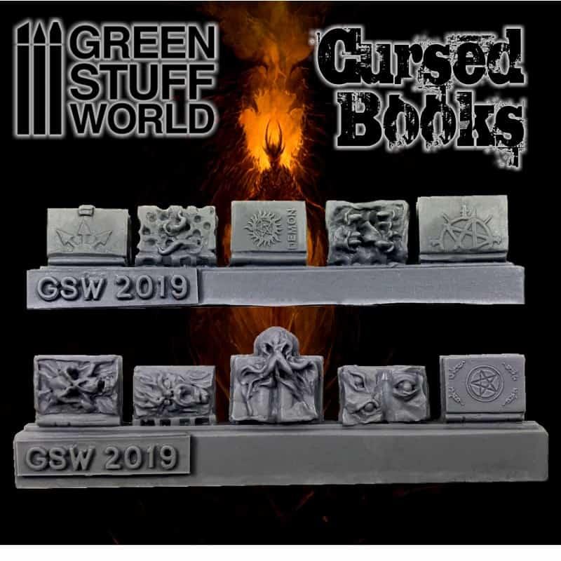 Zdjęcie Resin Cursed Books