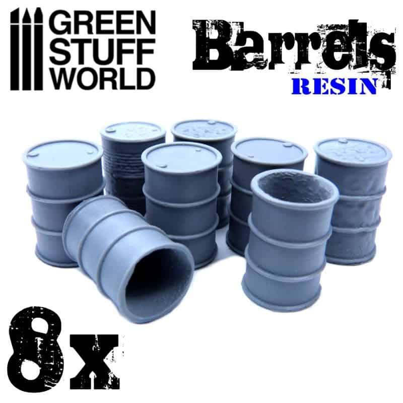 Resin Barrels