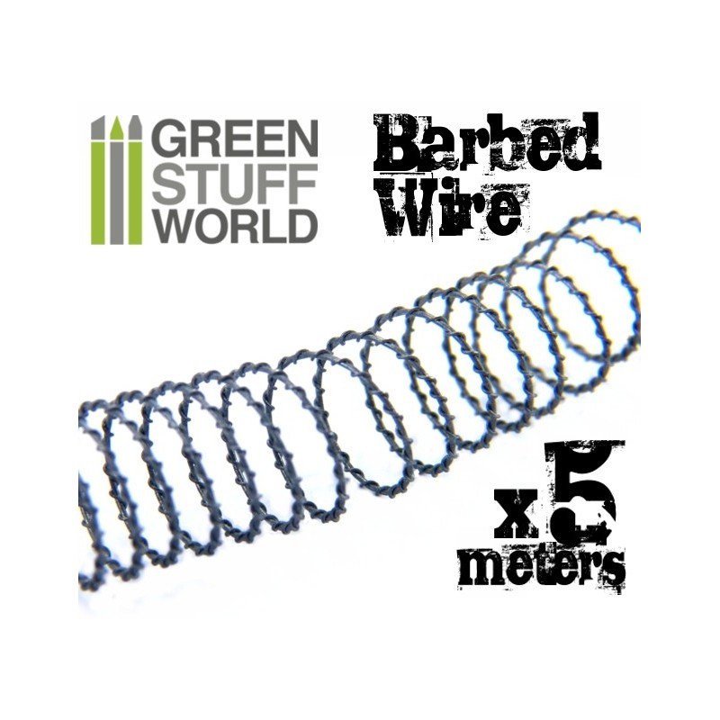 Simulated Barbed Wire