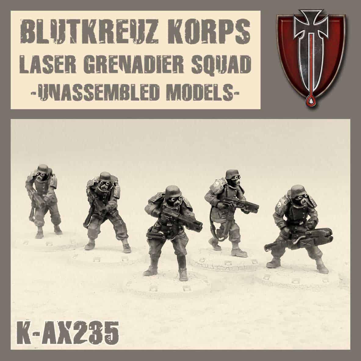 Laser Grenadiers Kit