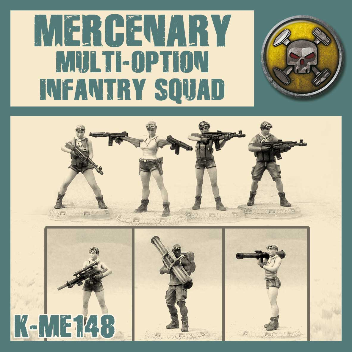 Mercenary Multi-Option Infantry Squad Kit