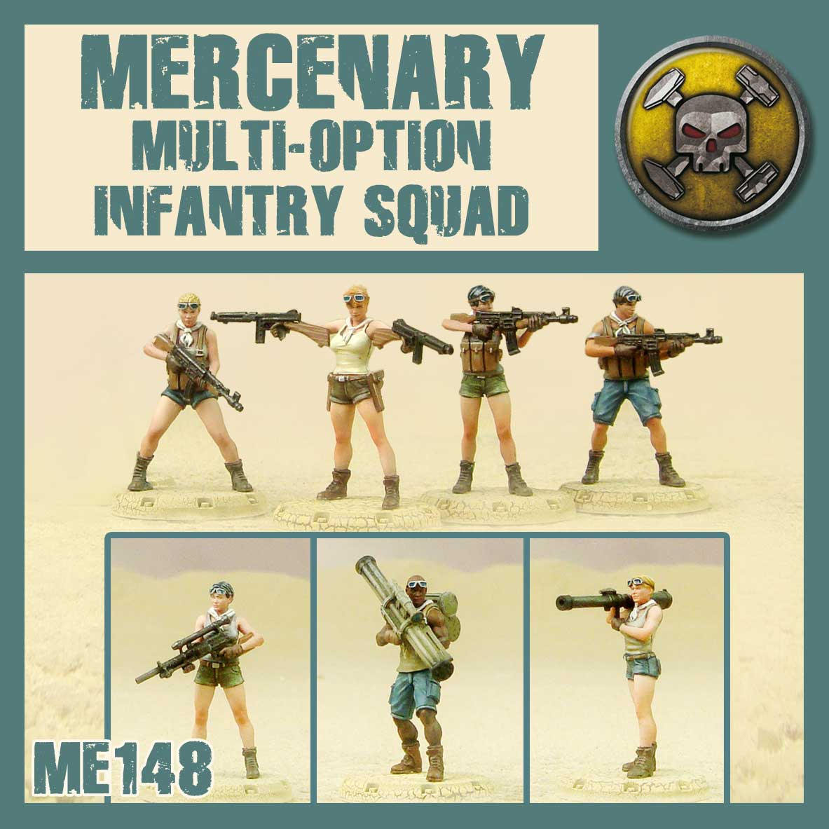 Mercenary Multi-Option Infantry Squad