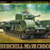 Zdjęcie Churchill Mk.VII – Crocodile (Tamiya)