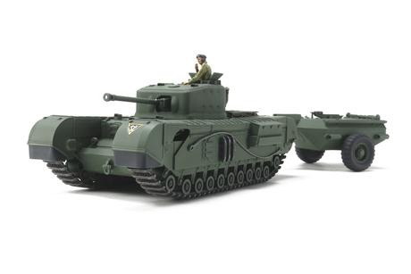 Churchill Mk.VII - Crocodile (Tamiya)