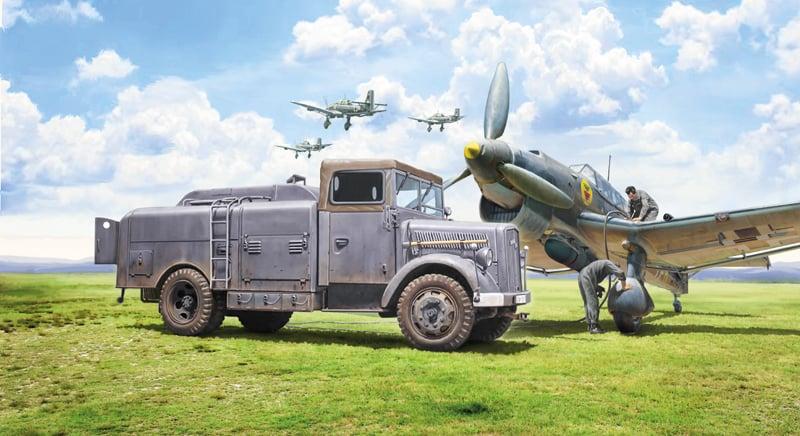 Opel Blitz Tankwagen (Italeri)