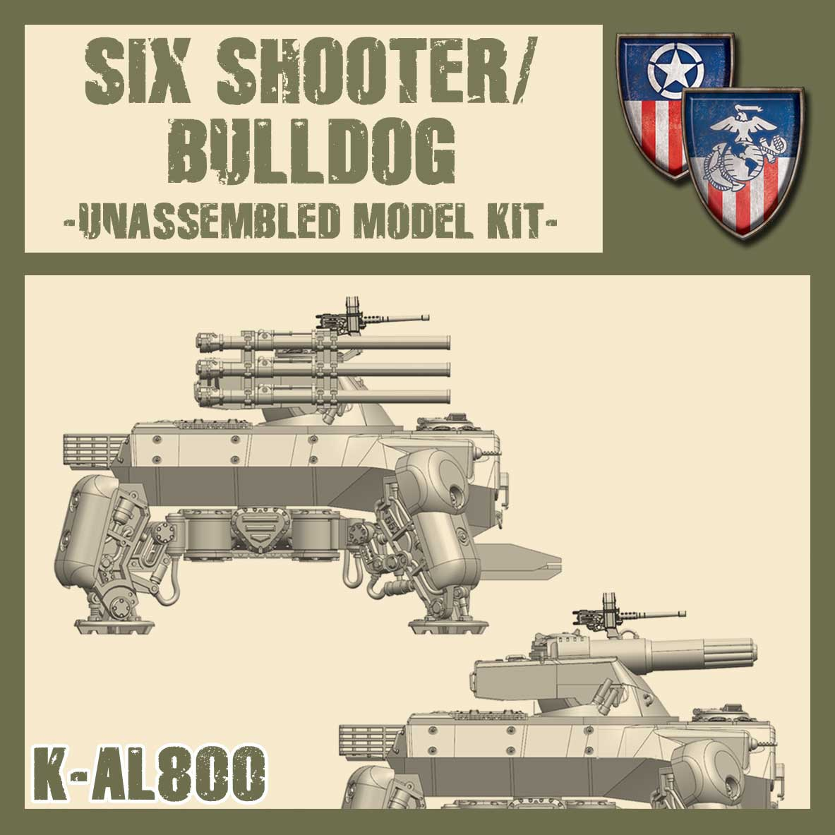 Bulldog/Six Shooter Kit