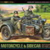 Zdjęcie German Motorcycle and Sidecar (Tamiya)