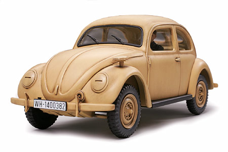 Volkswagen Beetle Type 82E Staff Car (Tamiya)