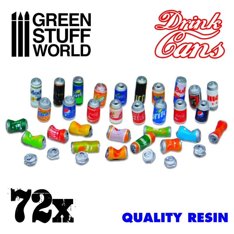 Resin Drink Cans