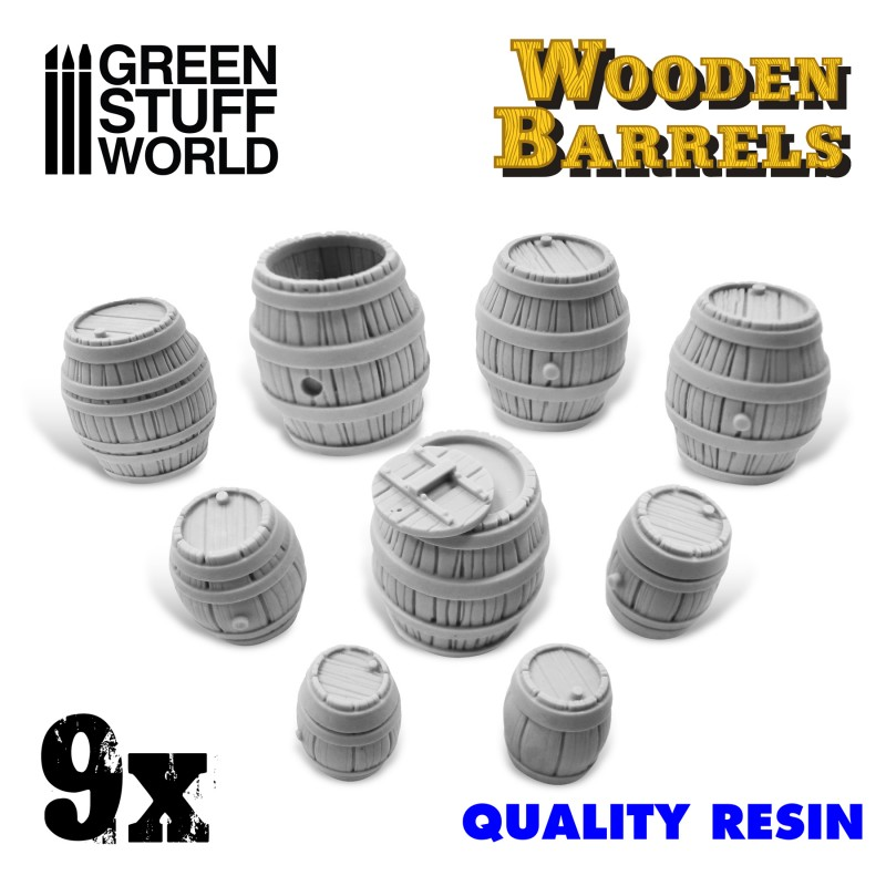 Resin Wooden Barrels