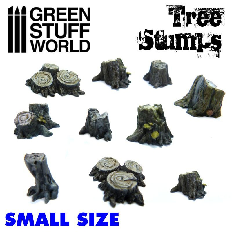 Resin Small Tree Stumps
