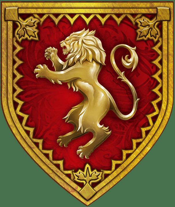 Lew rusza na wojnę – podstawowe rozpiski rodu Lannister