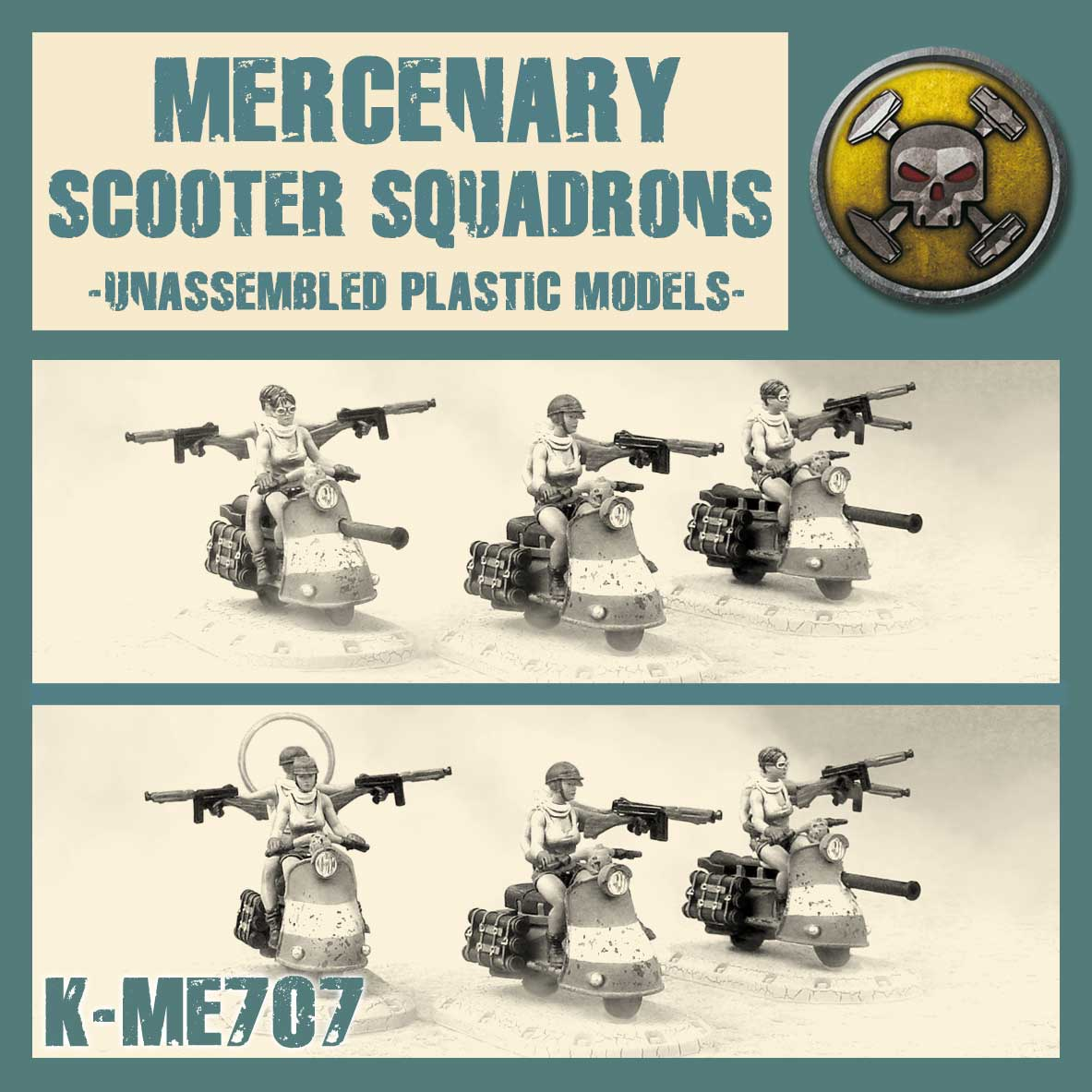 Mercenary Scooter Squadron Kit