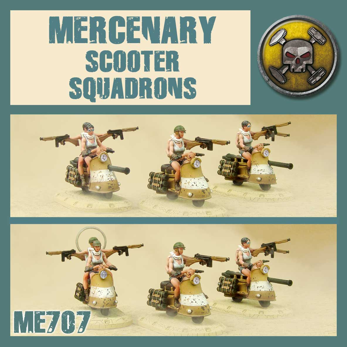Mercenary Scooter Squadron