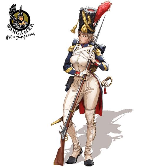 Celine, the Old Guard Grenadier (54 mm)
