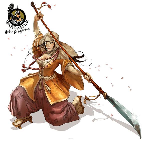 Misaki, the Warrior-Nun (28 mm)