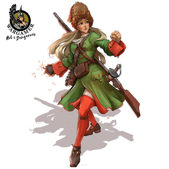 Natasha, the Russian Grenadier (54 mm)