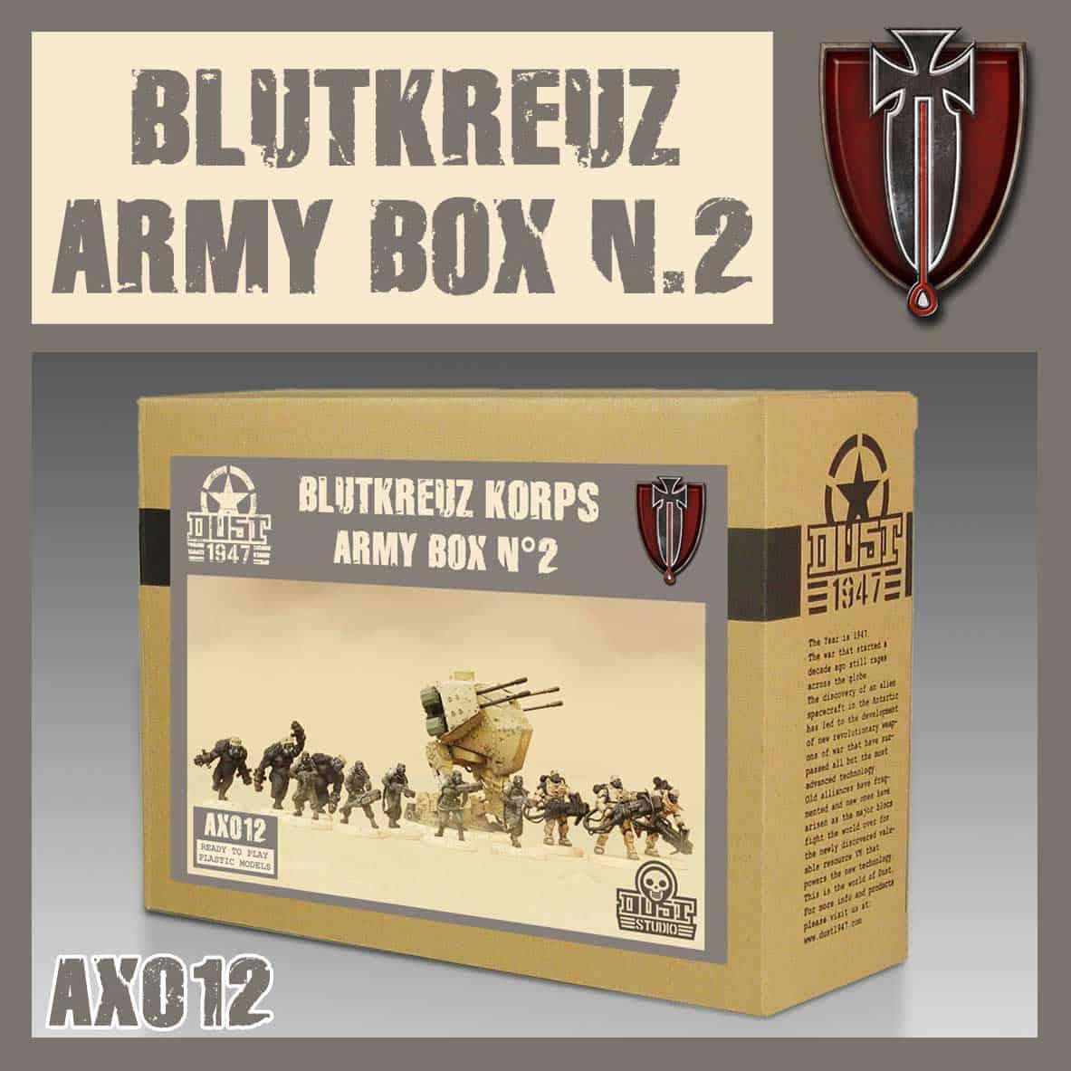 Zestaw Armijny Blutkreuz II