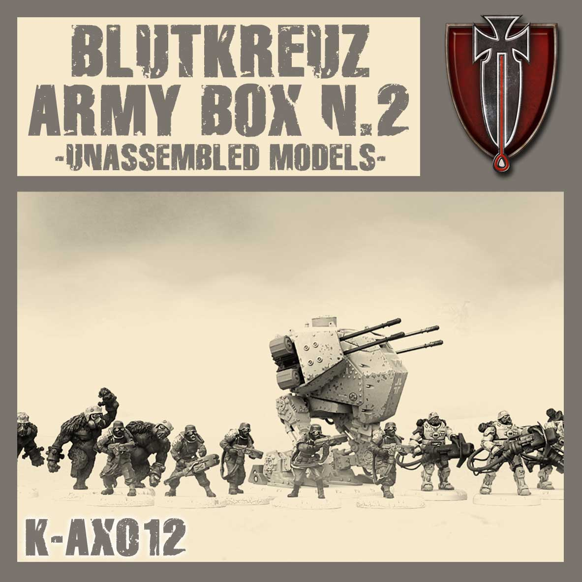 Blutkreuz Army Box II Kit