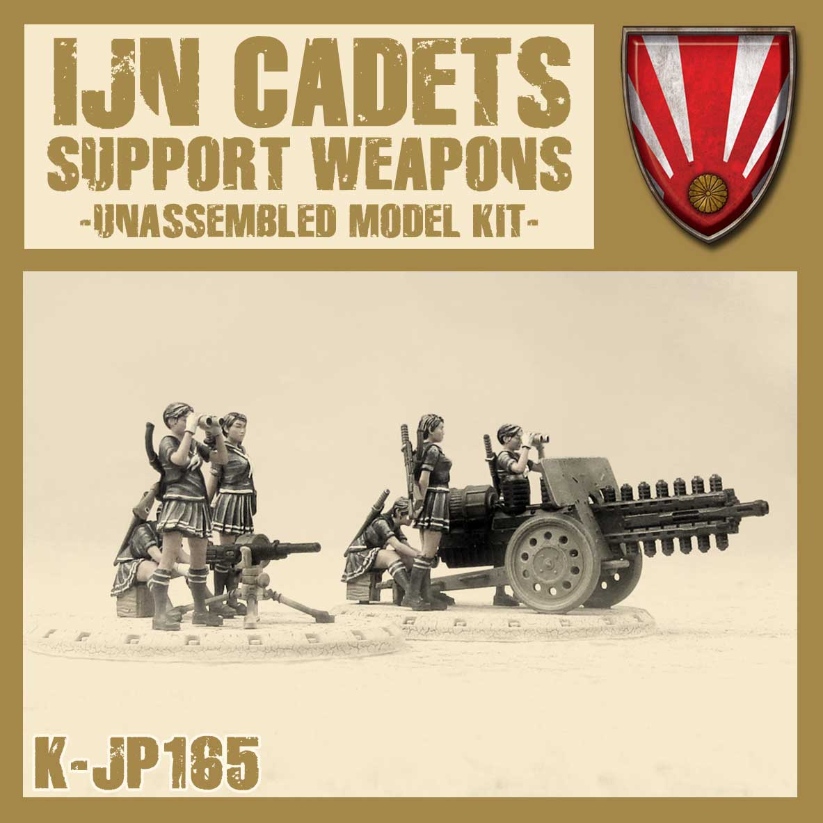 IJN Cadets Support Weapons Kit