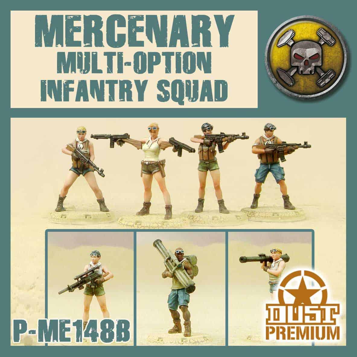 Mercenary Multi-Option Infantry Squad Babylon Pattern