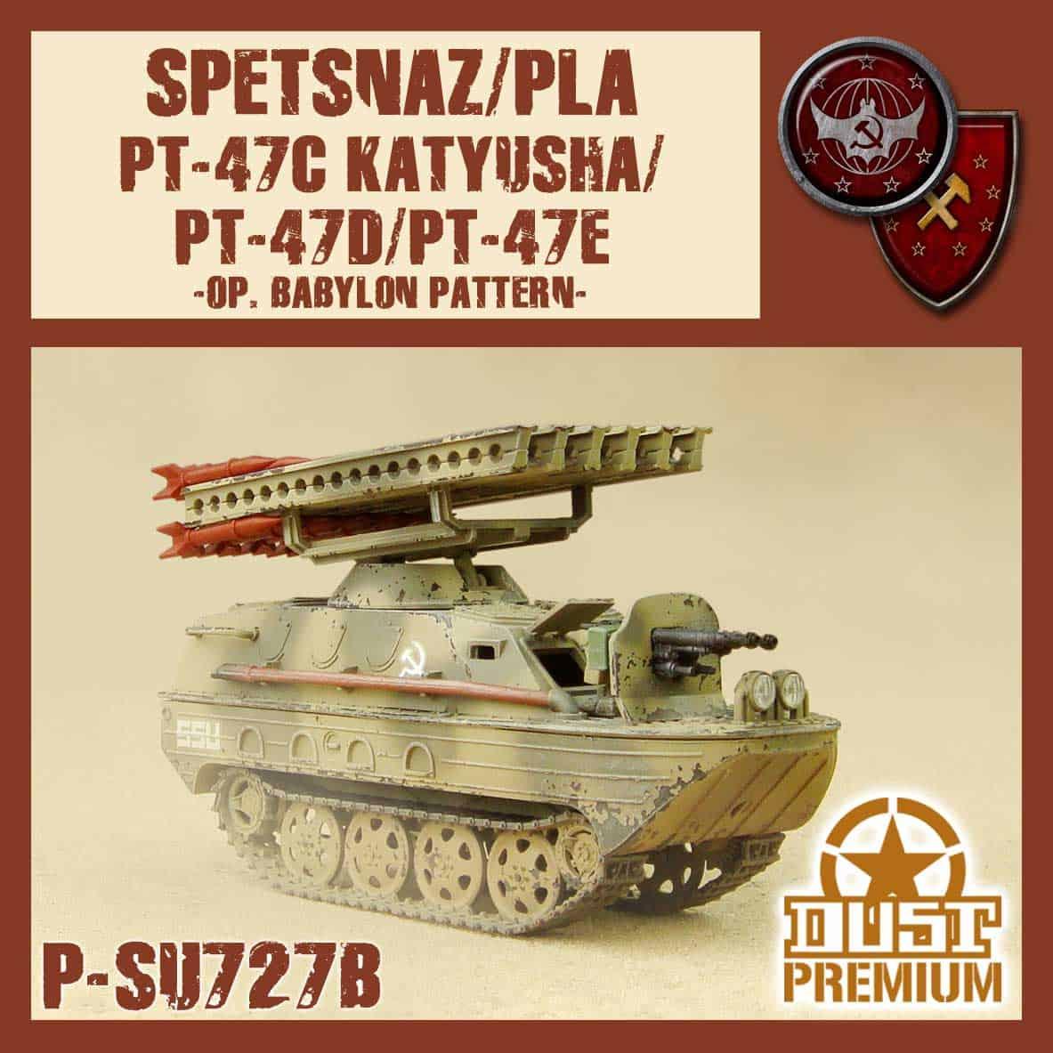 """Zdjęcie PT-47C/D/E """"Katiusza"""" Malowanie Babilon"""