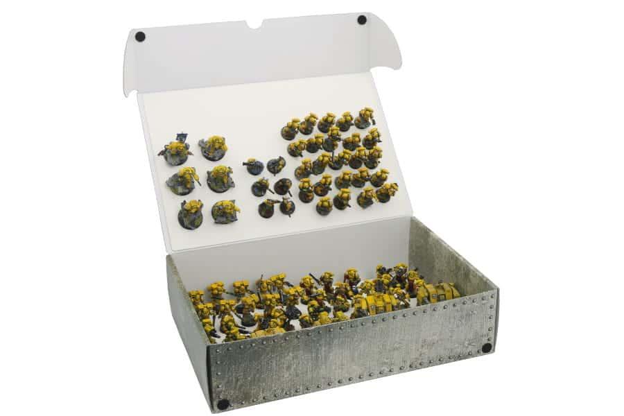 Pudełko XL na modele ze zmagnesowanymi podstawkami (dwie płyty)